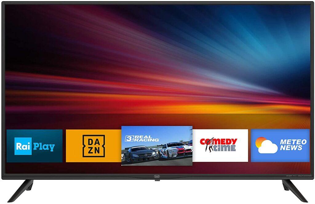 smart tv con TV SAT integrato